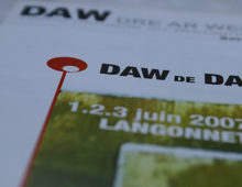 Programme du Festival «DAW de Danses»