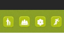 icônes pour le site d'Urbanility