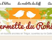 Le site de la Fermette du Rohiou.