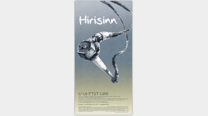 Affiche Cie P'tit Cirk - Hirisinn