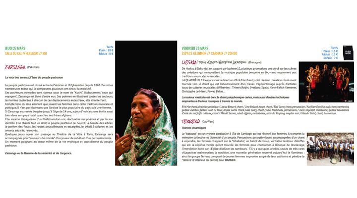 programme Festival couleurs du monde