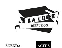 Site internet de La Criée