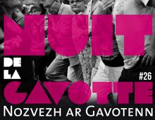 Affiche Nuit de la Gavotte 2015