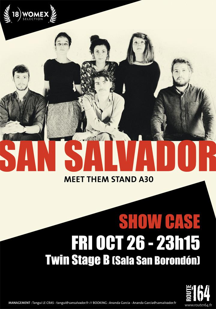Affiche San Salvador