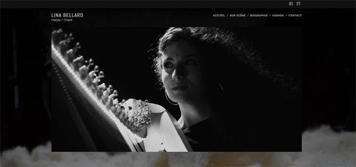 site Lina Bellard